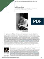 Crítica de 'Poesía completa', de José Lezama Lima_ La poesía golosa y opaca de Lezama Lima _ Babelia _ EL PAÍS