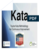 Kata Training 2013 Manufacturing Conference