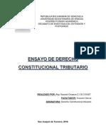 Ensayo Sobre El Sistema Tributario y La Justicia Tributaria