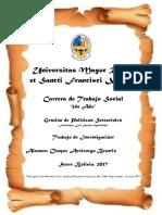 Prevencion de embarazos en adolescentes de secundaria del curso quinto C del colegio Maria Josefa Mujia