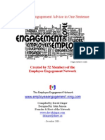Free e Book 52 Sentences of Employee Engagement Advice