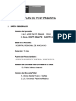 Plan Post Pasantia Surcubamba