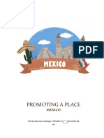 Example of Promoting a Place 2017