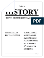 Judicial System of East India Company