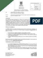 Memorando Instrucciones Rubros ONDAS