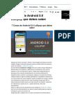7 Cosas de Android 5