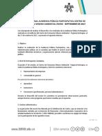 Informe de Rendición de Cuentas 2017 Centro de Formación Minero Ambiental