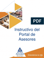 Instructivo Portal Asesores