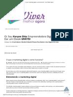 O Que é Marketing Digital e Como Funciona_ - Viver Melhor Agora