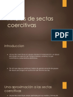 Análisis de Sectas Coercitivas