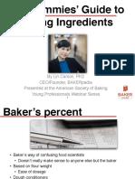Dummies Guide to Baking Ingredients