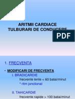 6. Cardiologie - Aritmii Cardiace. Tulburari de Conducere