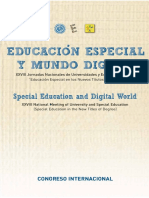 Educación Especial y Mundo Digital