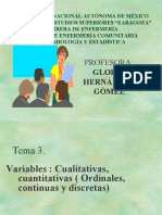 Variables y Datos