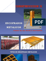 Encofrado Metalico - Ing Sosa