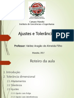Desenho Técnico (Ajustes e Tolerâncias)