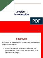 Leccion 01 - Introducción