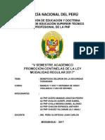 Monografia Beneficio Del Dron en La Seguridad Ciudadana - A3 Pnp Acero- Set 2017