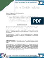Analisis de La Logistica en Colombia