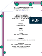 Kertas Kerja-kursus Kepimpinan Pengawas Pss 2017