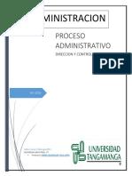 Investigacion Sobre Las Dos Ultimas Etapas Del Proceso Administrativo