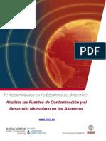 UC01 Analizar Fuentes Contaminacion Desarrollo Microbiano Alimentos