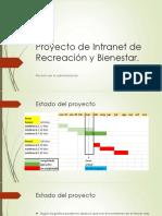 Proyecto de Intranet de Recreación y Bienestar