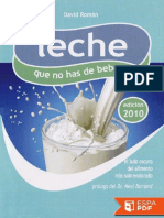 Leche Que No Has de Beber - David Roman Molto