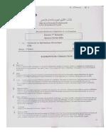 Correction Examen de Passage Theorie 2004