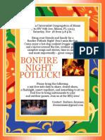 Bonfire Nightpotluck 111817