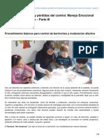 autismodiario.org-Berrinches rabietas y pérdidas del control Manejo Emocional en niños con autismo  Parte III.pdf