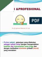 2. Profesi Profesional