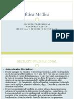 Secreto Profesional Etica Medica