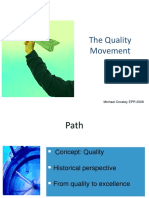 Quality History Presentasi