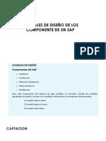 Tema 8 Caudal Diseño y Almacenamiento