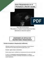 Afecciones Respiratorias Del RNPT y RNT