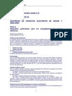 IEC 60335 2 76 Cercos Eléctricos