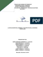 Devaluación de La Moneda Y Efectos en La Sociedad Venezolana