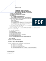 Modalidades Formativas Laborales (Derecho Laboral Individual)