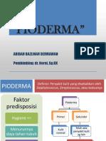 Pyoderma- DT (ABD)