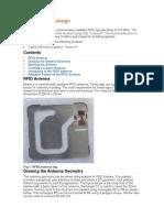 RFID Antenna Design