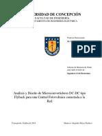 Tesis Analisis y Diseño de Microconvertidores