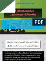 Pembentukan Keluarga Muslim