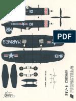 Corsair Paper Airplane