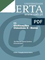 Civilizações Clássicas - ROMA