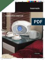 Swan Teasmade Instructions 14140