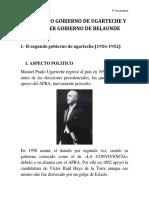 Gobierno de Ugarteche y Odria
