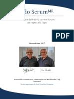 2017 Scrum Guide Portuguese Brazilian