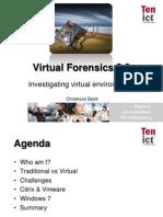 BlackHat USA 2010 Beek Virtual Forensics Slides