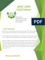 Jenis Jenis Vegetarian